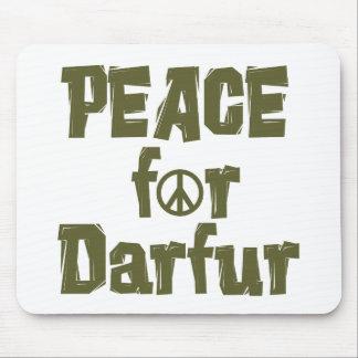 Paz para Darfur 1 Tapetes De Ratón