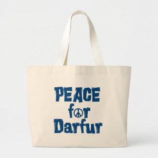 Paz para Darfur 2 Bolsas De Mano