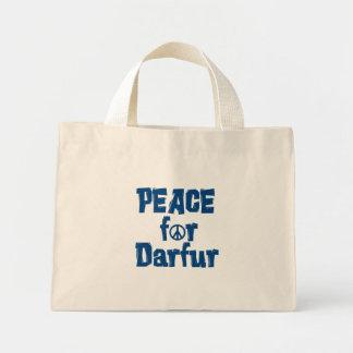 Paz para Darfur 2 Bolsas Lienzo