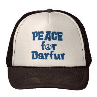 Paz para Darfur 2 Gorras De Camionero