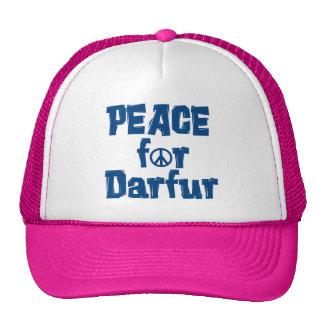 Paz para Darfur 2 Gorros