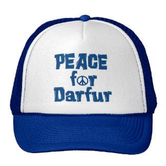 Paz para Darfur 2 Gorros Bordados