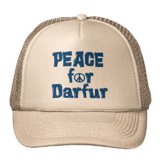 Paz para Darfur 2 Gorro
