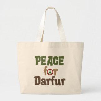 Paz para Darfur 3 Bolsas De Mano