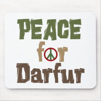 Paz para Darfur 3 Alfombrillas De Ratón