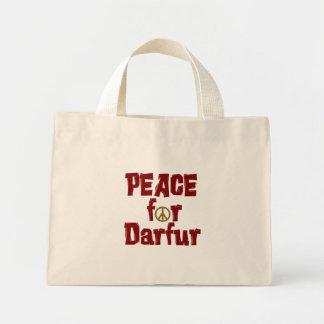 Paz para Darfur 4 Bolsa De Mano