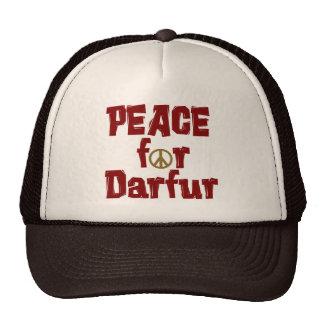 Paz para Darfur 4 Gorro De Camionero