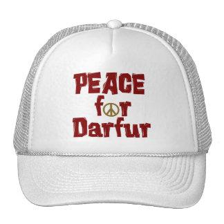 Paz para Darfur 4 Gorras