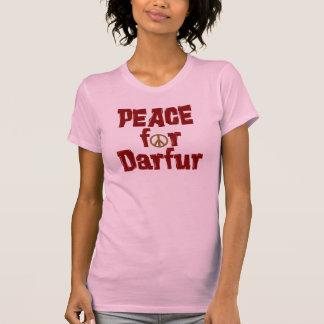 Paz para Darfur 4 Camisetas