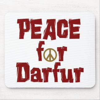 Paz para Darfur 4 Alfombrillas De Ratón