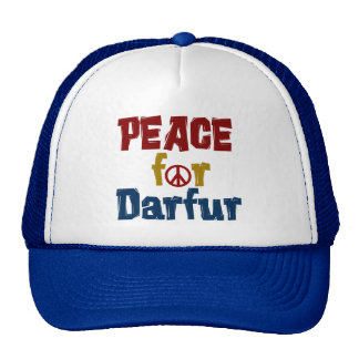 Paz para Darfur 5 Gorro