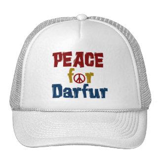 Paz para Darfur 5 Gorras De Camionero