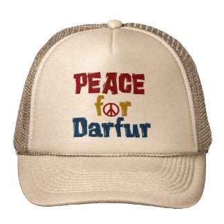 Paz para Darfur 5 Gorras