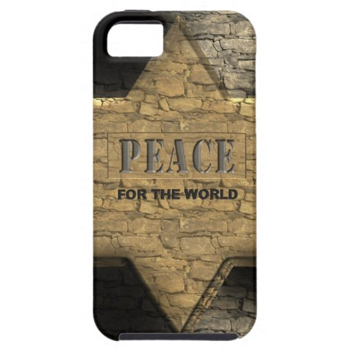 Paz para el mundo iPhone 5 fundas