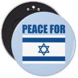 Paz para Israel Pin