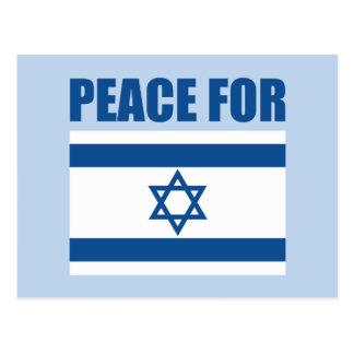 Paz para Israel Tarjetas Postales