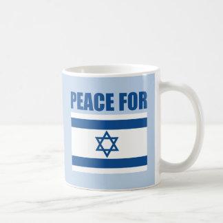 Paz para Israel Taza
