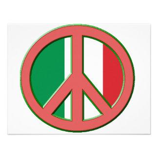 Paz para Italia Anuncio