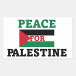 Paz para Palestina Etiqueta