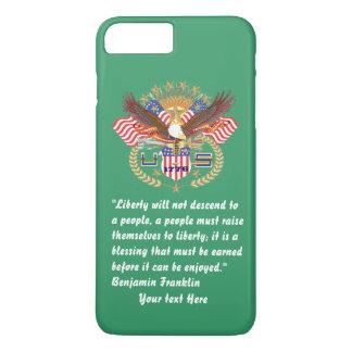 Paz patriótica Forest Green Kentucky Funda iPhone 7 Plus