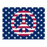 Paz patriótica postal