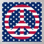 Paz patriótica posters