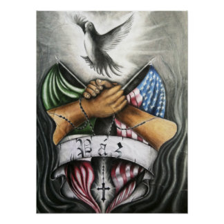 Paz (Peace) Poster