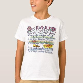 Paz, peace shirt