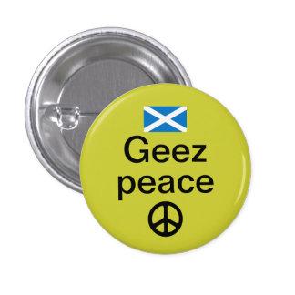 Paz Pinback de Indyref del escocés Pin