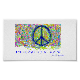 Paz Póster
