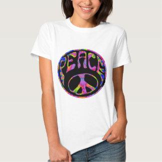 Paz - primero plano teñido lazo remeras