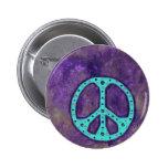 Paz púrpura pins