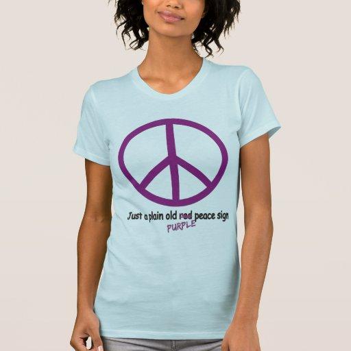Paz púrpura poleras