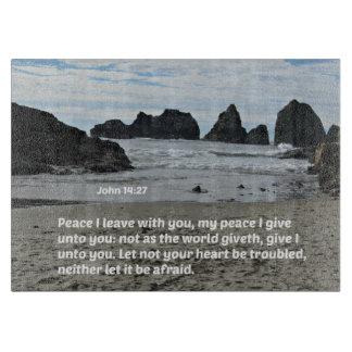 Paz que dejo con usted, mi paz del 14:27 de Juan Tabla De Cortar