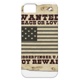 Paz querida funda para iPhone 5 barely there