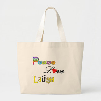 Paz, risa del amor bolsa