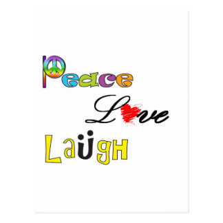 Paz risa del amor postales