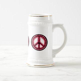 Paz roja Stein Taza