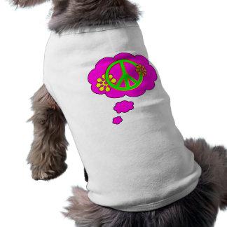 paz camisetas de mascota