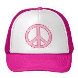 Paz rosada del lunar gorras