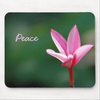 Paz rosada Mousepad