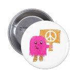Paz rosada pins