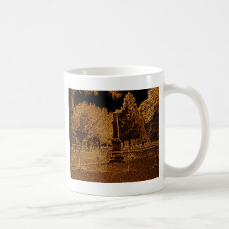 Paz rústica tazas de café