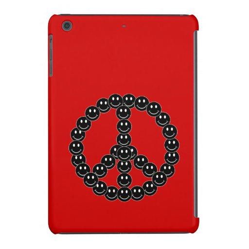 Paz sonriente adaptable funda para iPad mini retina