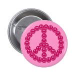 Paz sonriente adaptable pins