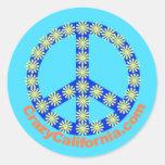 Paz Sticker_05 Pegatinas Redondas