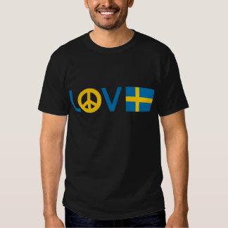 Paz Suecia del amor Poleras