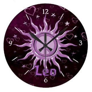 Paz Sun Leo Reloj Redondo Grande