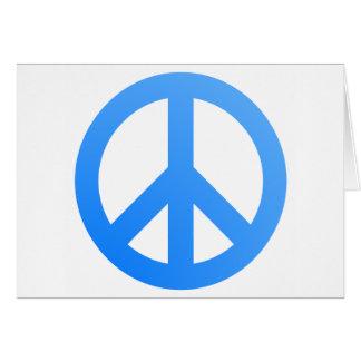 ¡Paz! Tarjeta