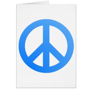 ¡Paz! Tarjeta De Felicitación